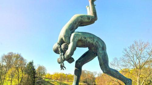 維格朗雕像公園