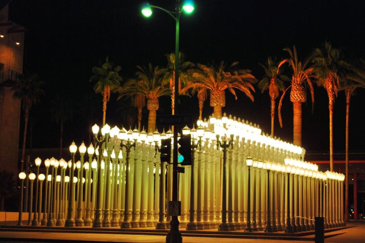 Urban Light at LACMA