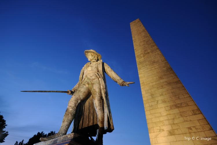 邦克山紀念碑2