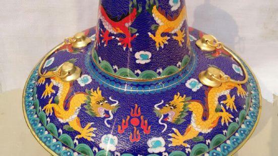 景泰藍火鍋燒烤