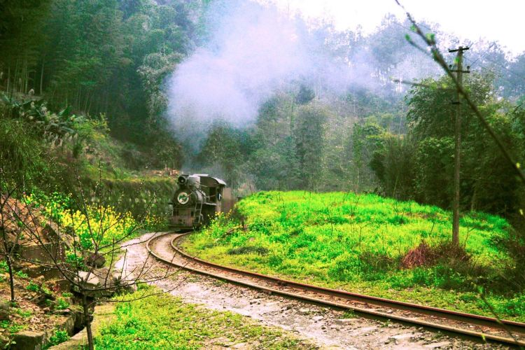 Jiayang Little Steam Train3