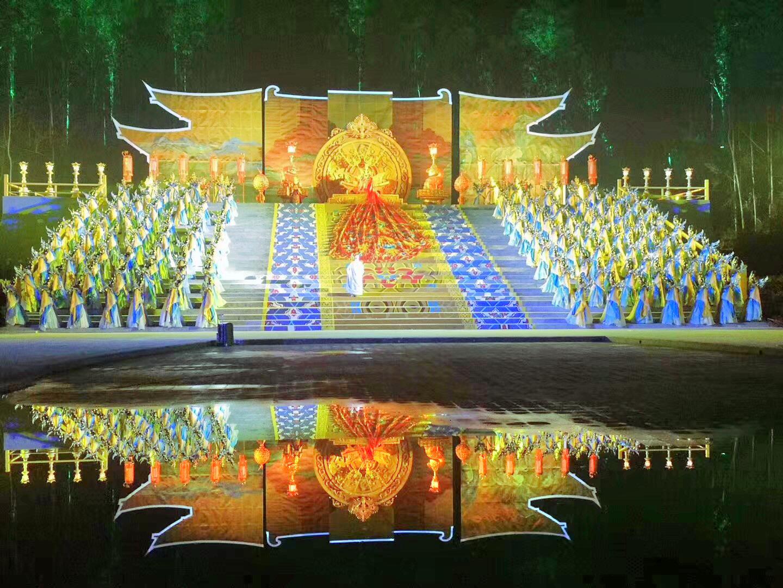 禪域小鎮《六祖大典》實景演出