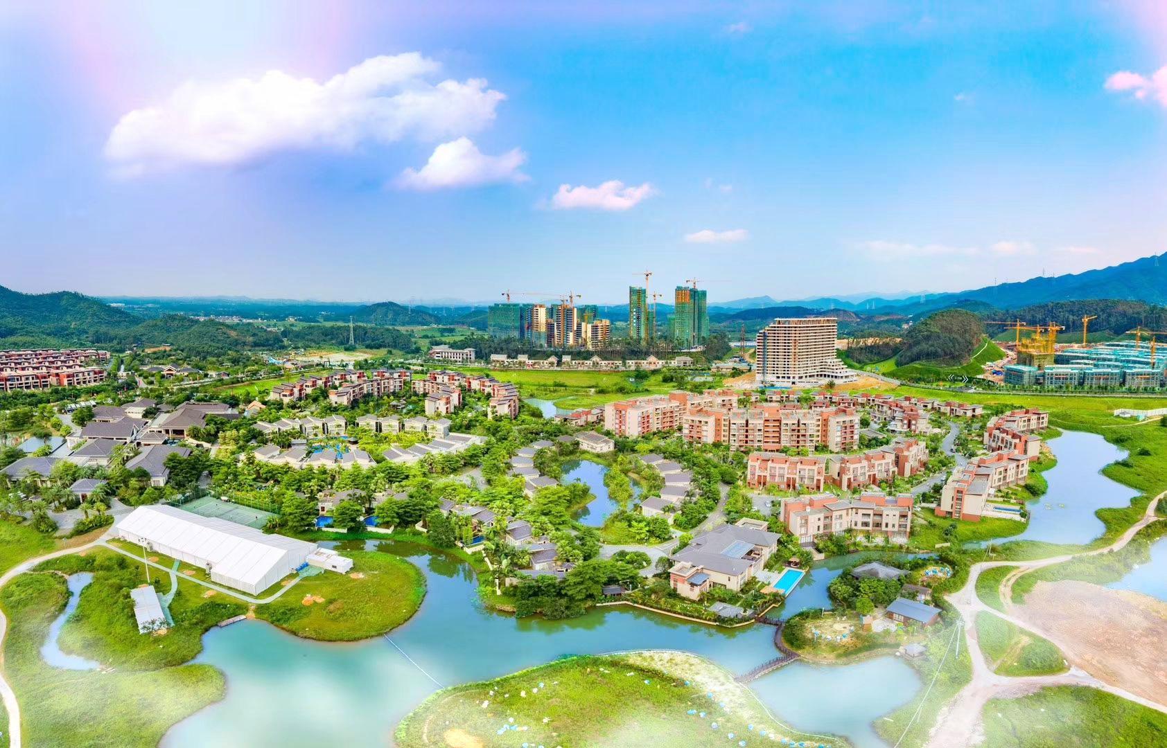 Green Land Hot Spring Region