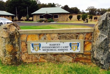 Harvey Internment Camp Memorial Shrine