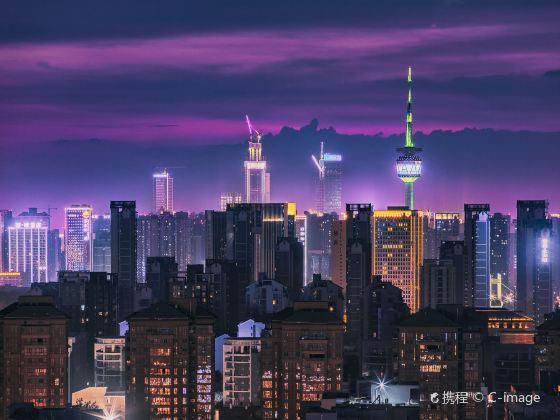 「西部の光」陝西ラジオ・テレビ塔
