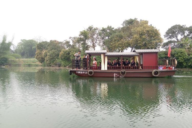 Anpingxianhe Sceneic Area2