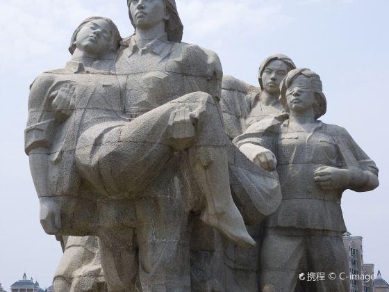 Eight Women Sculpture