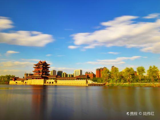 臨汾汾河公園