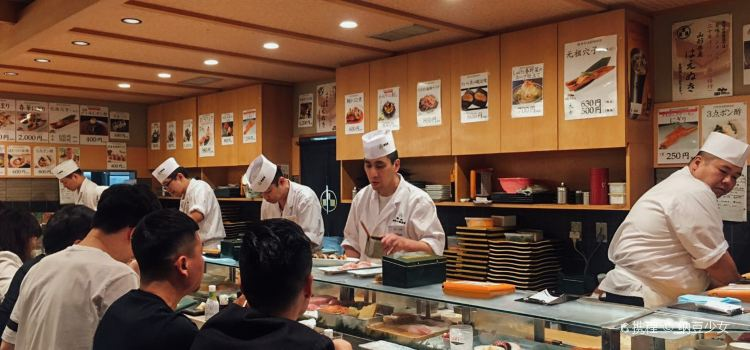Sushi no Midori Ginza1
