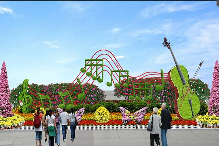 The Flower Expo Park of Bangbu4
