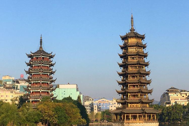 Sun and Moon Twin Towers2