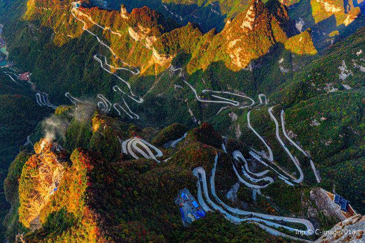 톈먼산 국가산림공원(천문산 국가삼림공원)2
