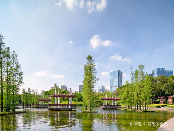 천등호 공원