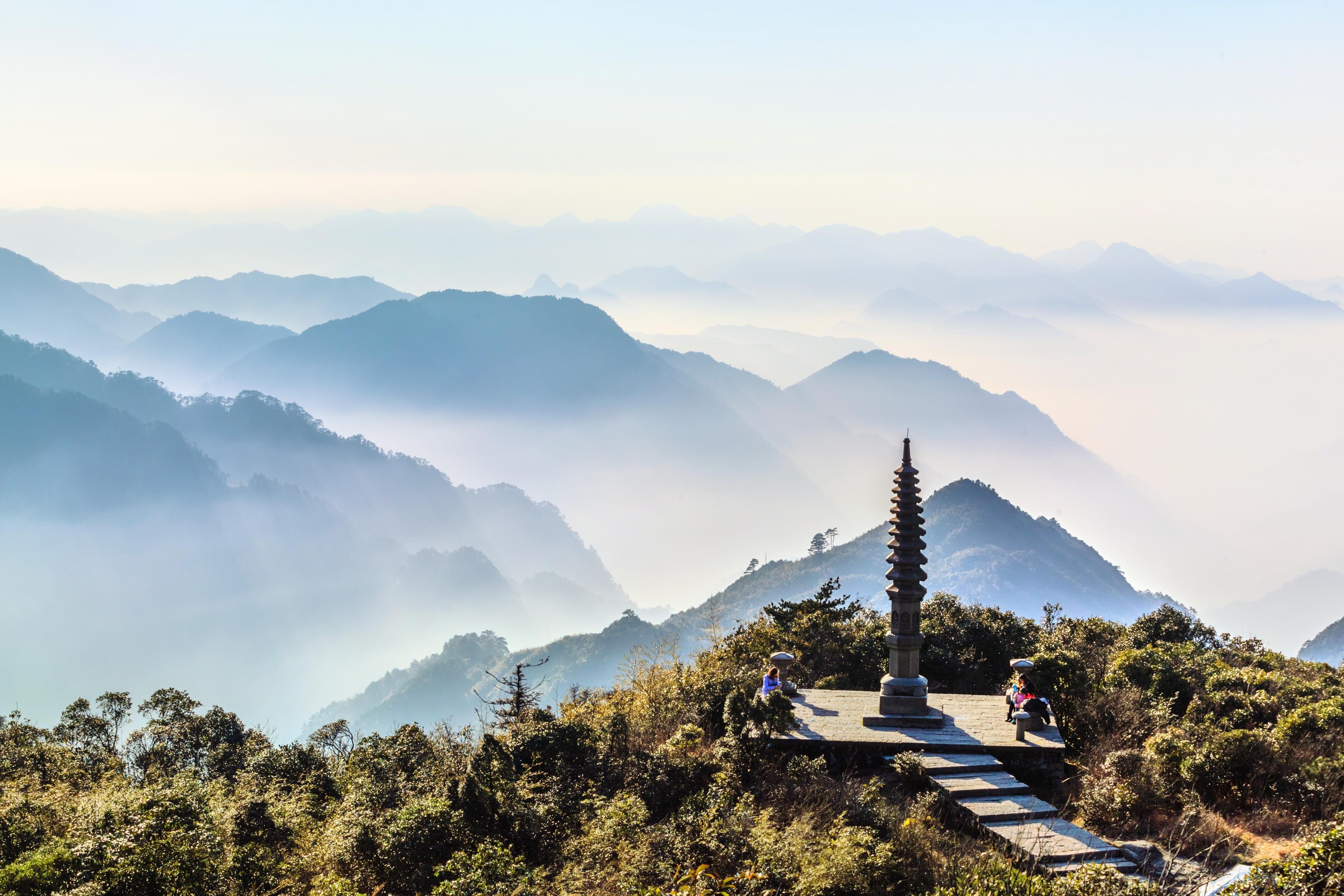 天臺山景區