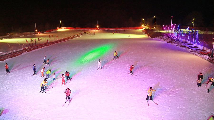 Zibaishan International Ski Resort