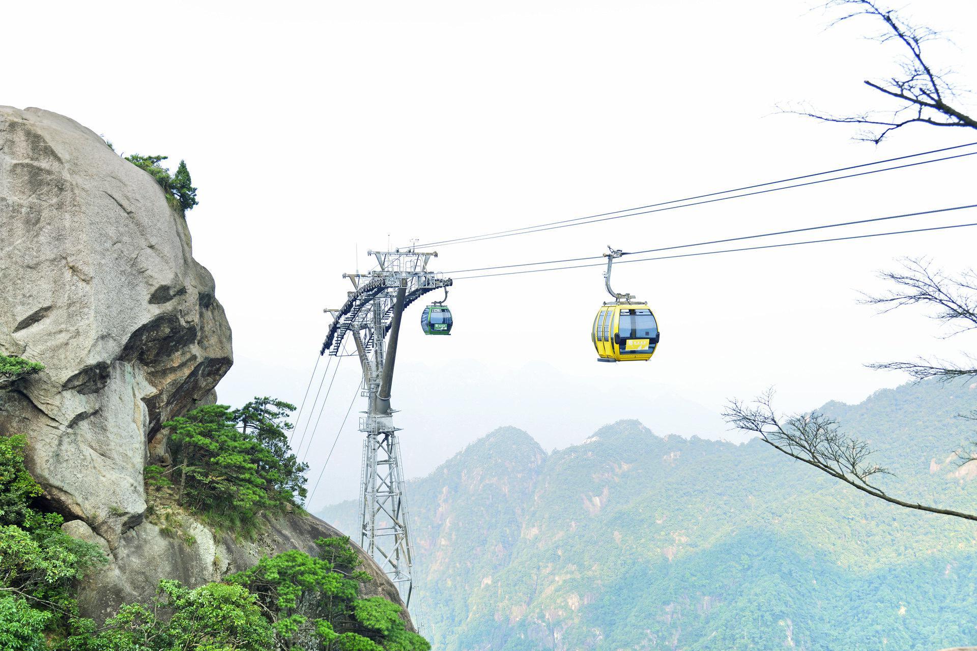 Sanqingshan Jinsha Cableway