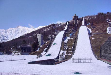 白馬滑雪跳臺