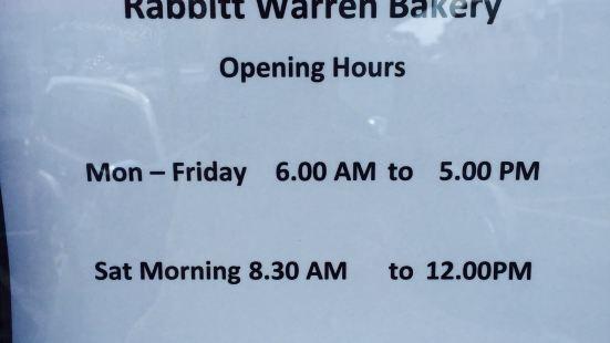 Rabbit Warren Bakery