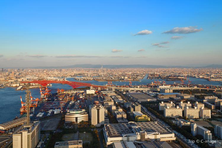 Osaka Prefectural Government Sakishima Building Observatory1