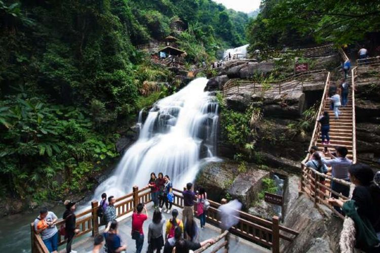 Huang Manzhai Waterfall3