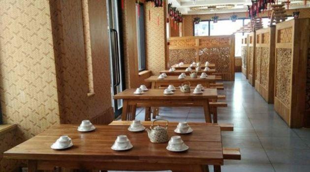 鄉土風情農家院銅火鍋