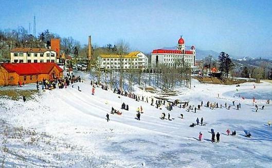 Shenlu Ski Area of Pingshan