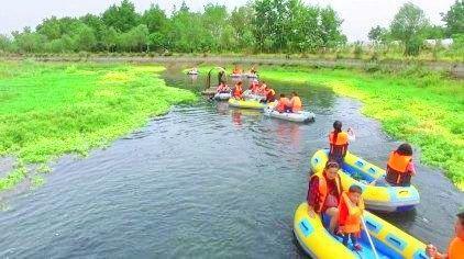 Qimuhe Wetland Drifting