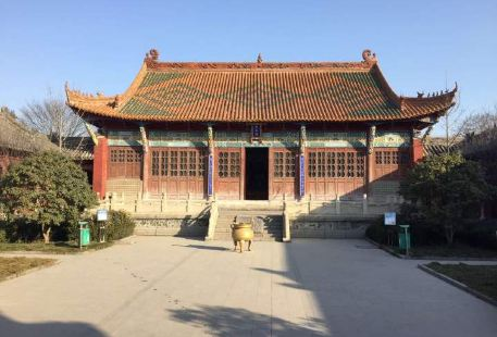 Confucian Temple in mengcheng