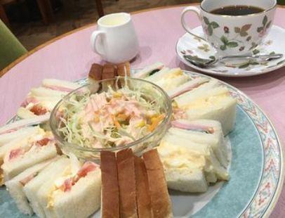 Cafe Eikokuya Daimaru Kobe