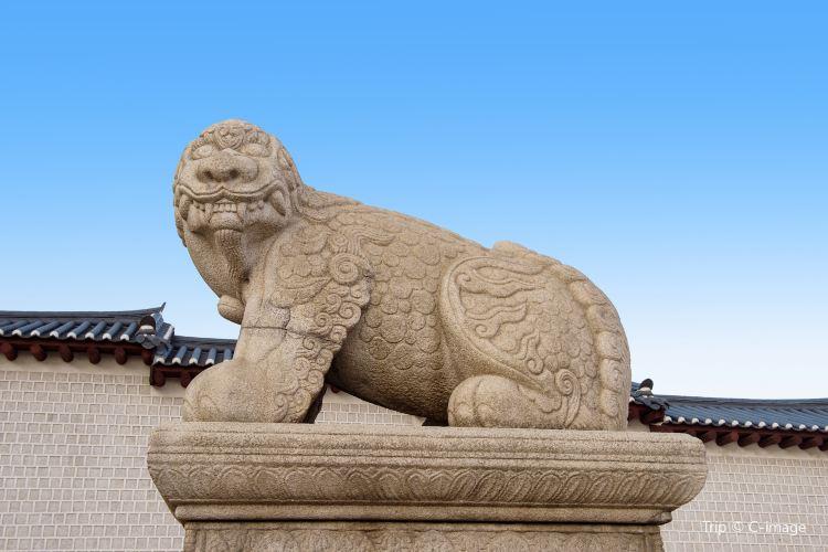 首爾景福宮獬豸像1