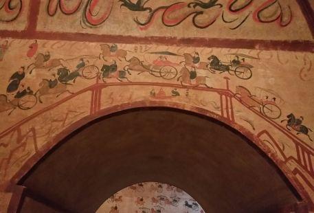 Helingeer Tuchengzi Ancient Tomb Cliff Painting