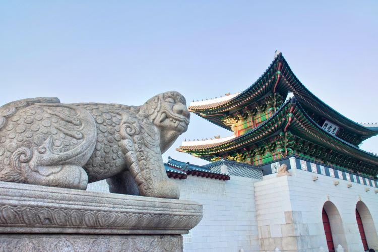 首爾景福宮獬豸像