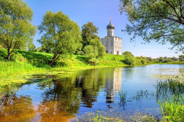 the Church of the Intercession on the Nerl River