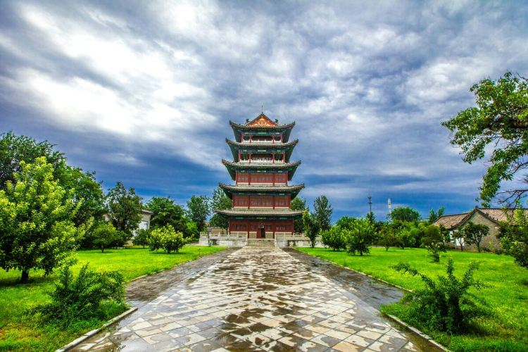 Yangjiabu Folk Art Grand View Garden2