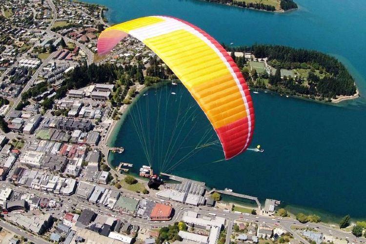 G Force滑翔傘體驗2