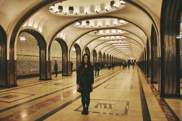 Mayakovskaya metro station1