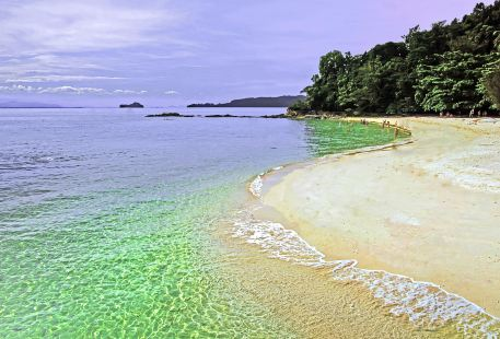 沙庇島海底漫步
