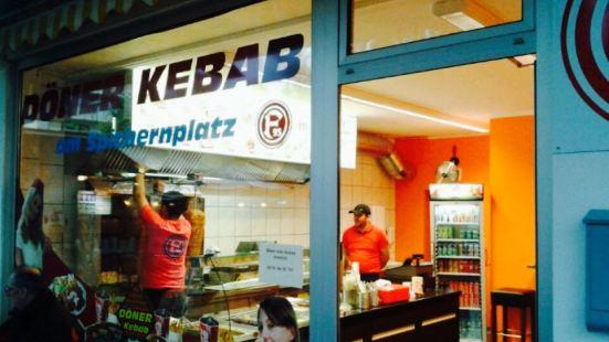 Döner Kebab am Spichernplatz