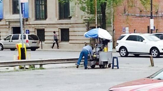 Hot Dog Cart. Unique Lot