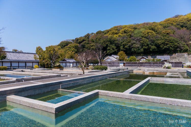 Matsuyama Castle Ninomaru Historical Site Garden1