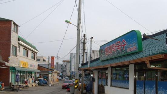 孝石文化村蕎麥美食街