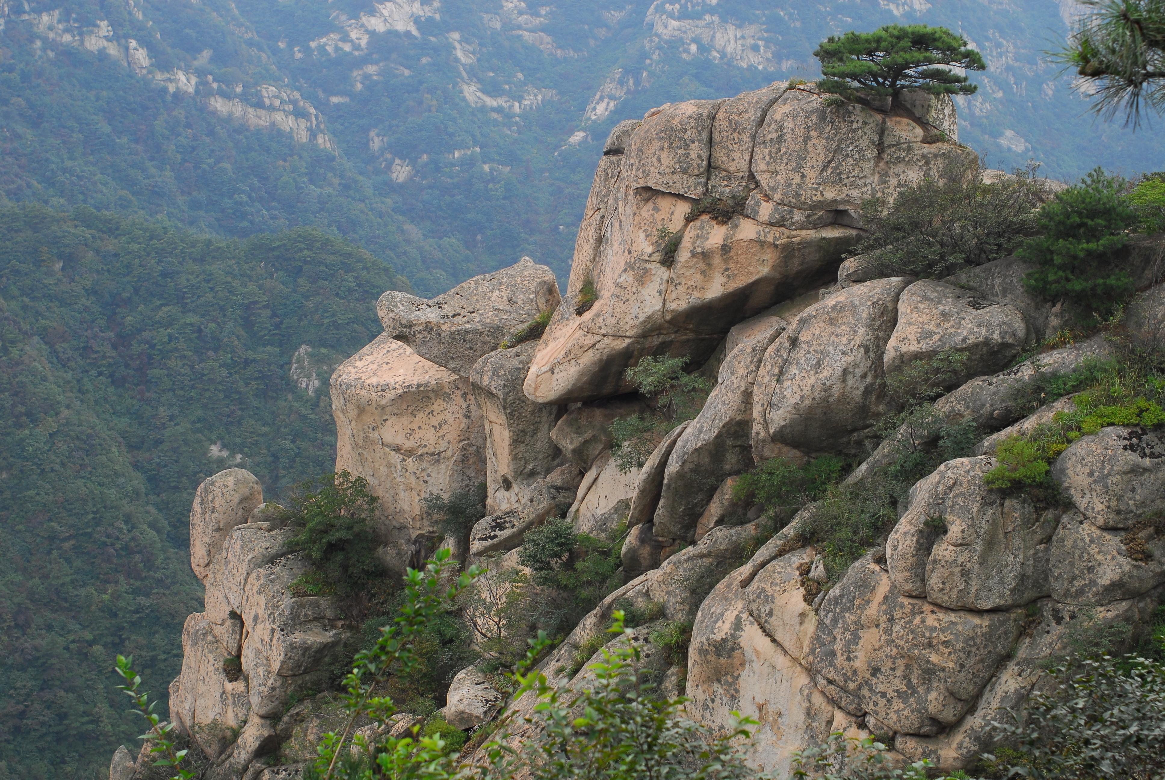 기몽산 운몽 관광지(몽산국가삼림공원)