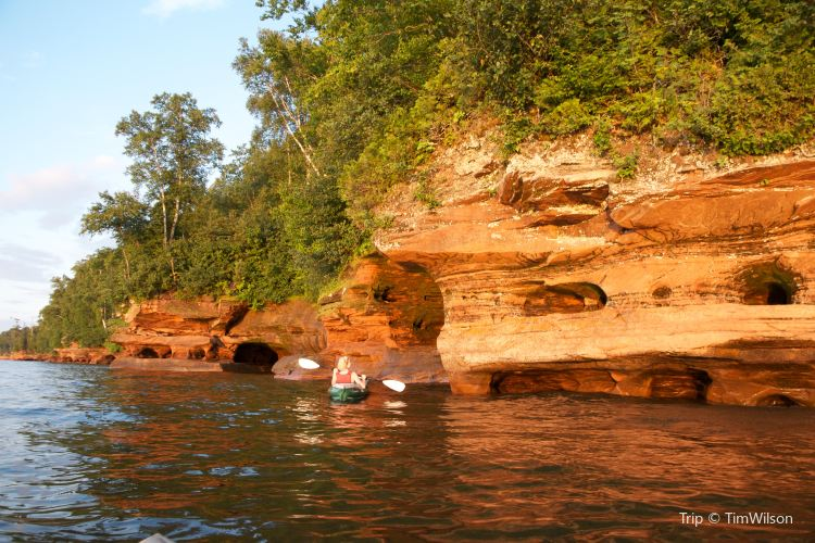 Apostle Islands National Lakeshore Ice Caves4