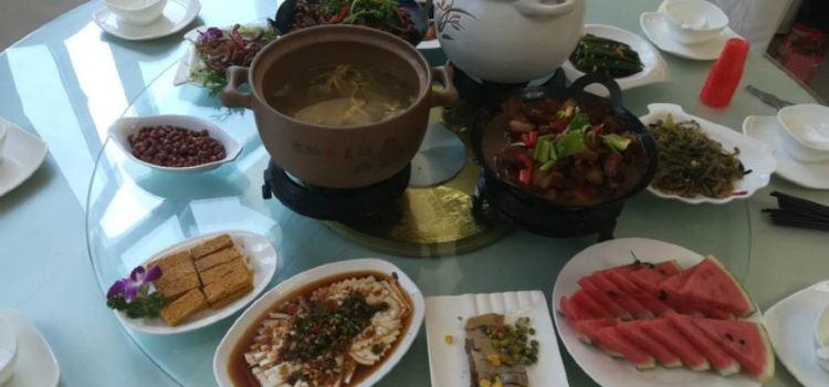 金寨天堂寨禦水山莊·柴火時光生態餐廳3