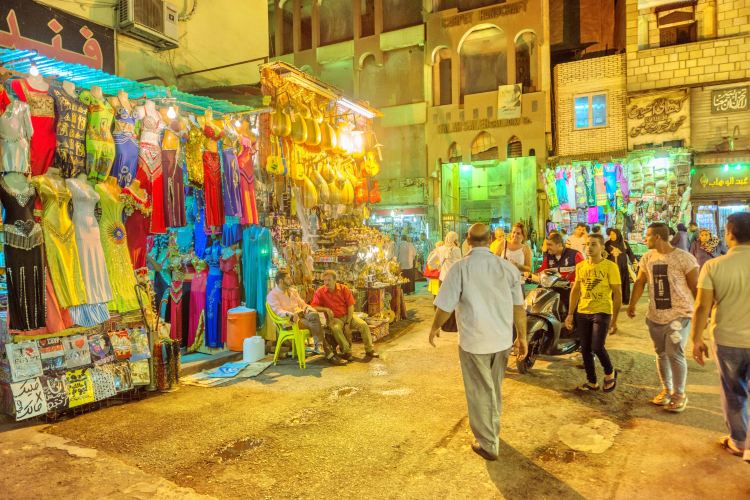 칸 엘-칼릴리 시장
