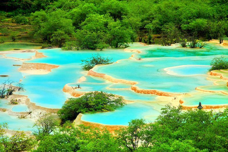 黃龍五彩池