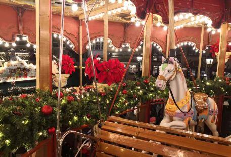 Christmas Market In Frankfurt