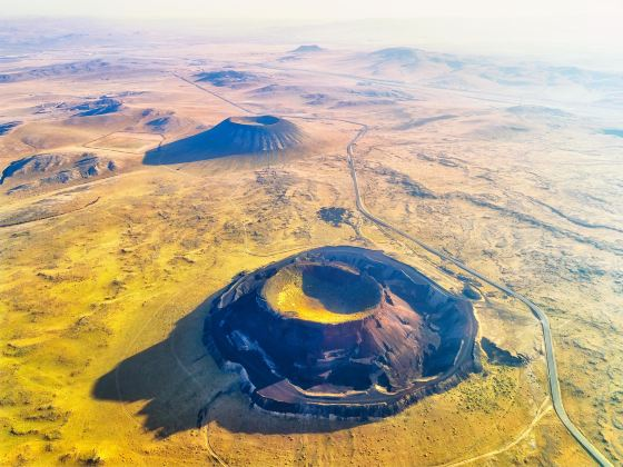 烏蘭哈達火山地質公園