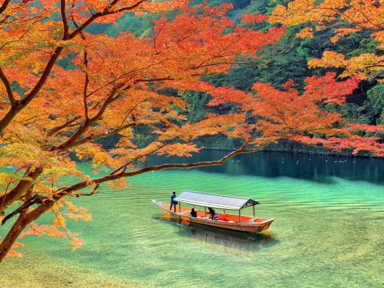 Hozukyo Gorge