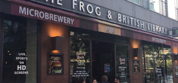 The Frog & British Library2